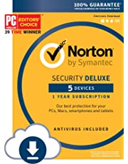 Norton Security Deluxe – 5 Devices – 1 Year Subscription - Instant Download - 2019 Ready