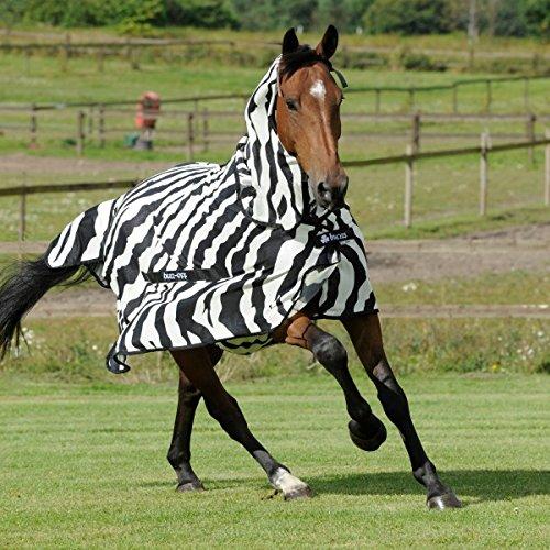 Bucas Buzz-off Full Neck Big Neck - zebra