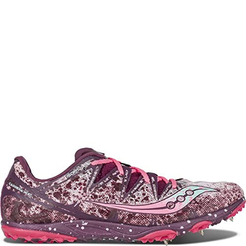 Saucony De las mujeres Kilkenny XC5 Cross Country Shoe,Purple