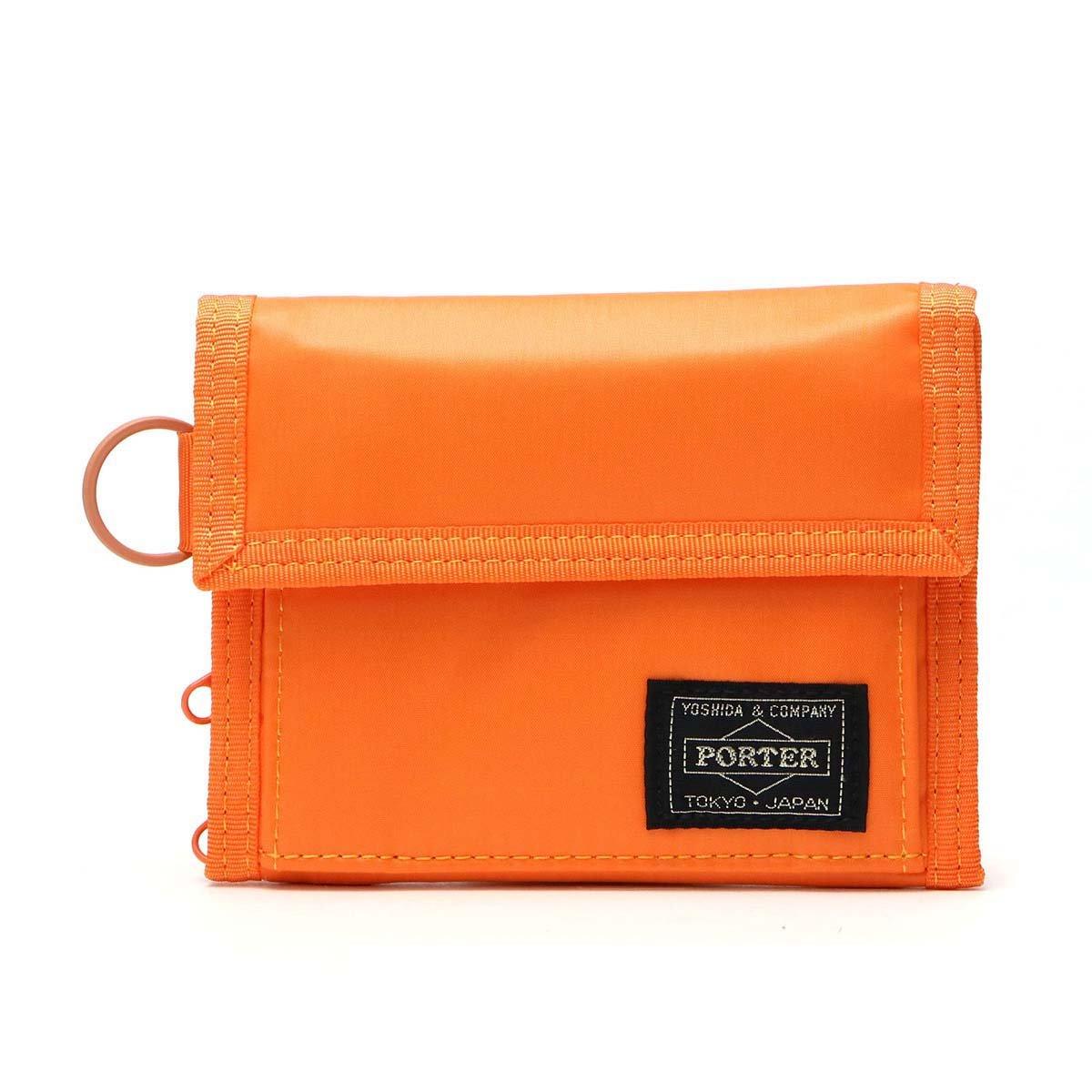 [ポーター]PORTER CAPSULE カプセル 三つ折り財布 555-06440 B00718V1TI オレンジ(23) オレンジ(23)