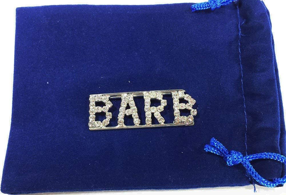 Detti Originals Personalized Rhinestone Name Barb Pin