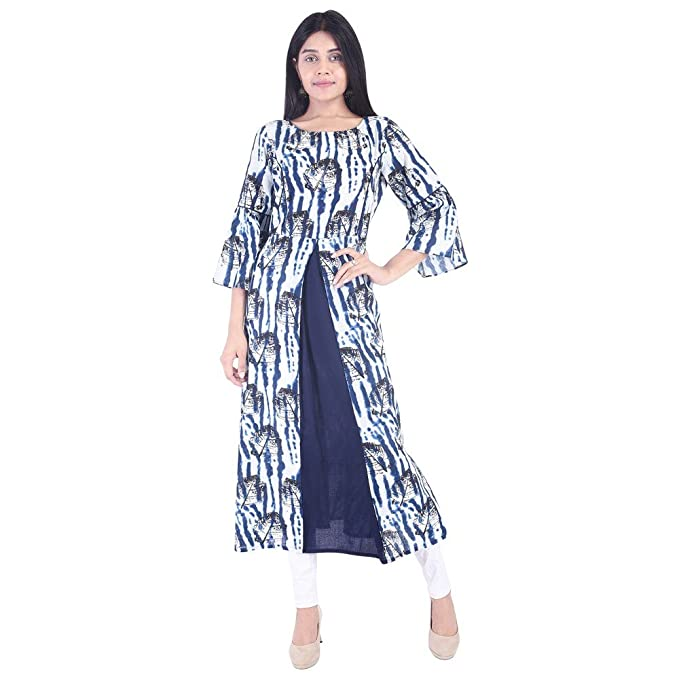 d36514860d113 Vihaan Impex Indian Womens Casual wear Party wear Top Tunic Blue ...
