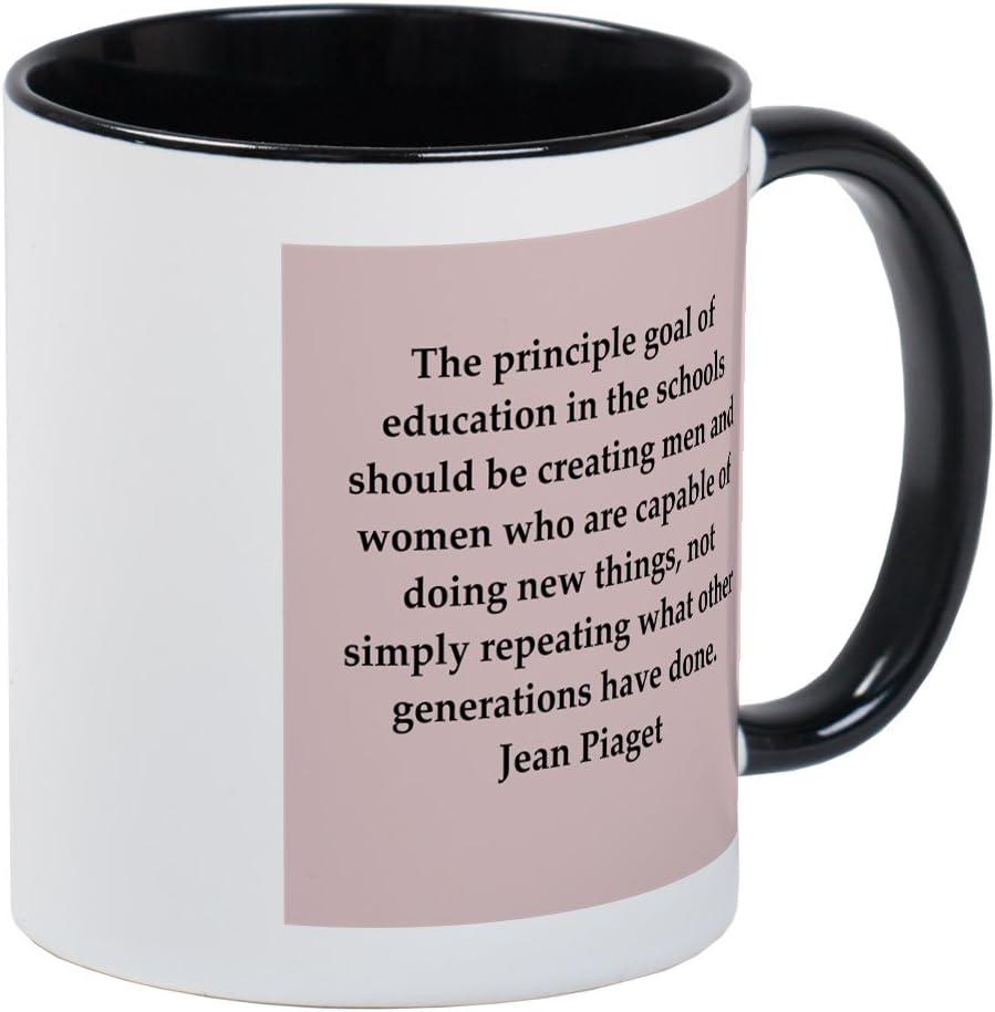 com cafepress jean piaget quotes mug unique coffee mug