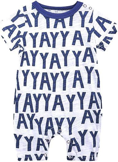 Pelele para beb/é ni/ña Azul 3-6 Meses CARETOO