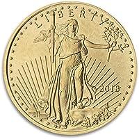 2018 2018 1/10 oz American Gold Eagle Coin (BU) $5 BU