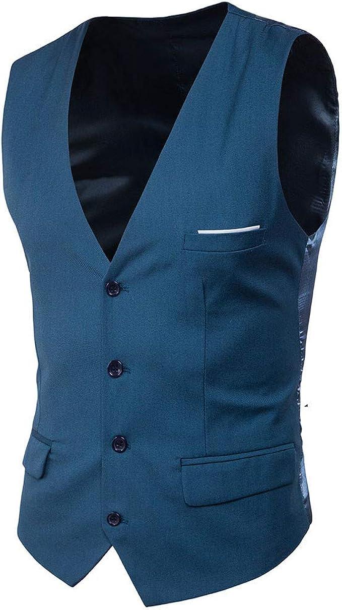 Clásico para hombre Paisley Floral Jacquard chaleco corbata y ...
