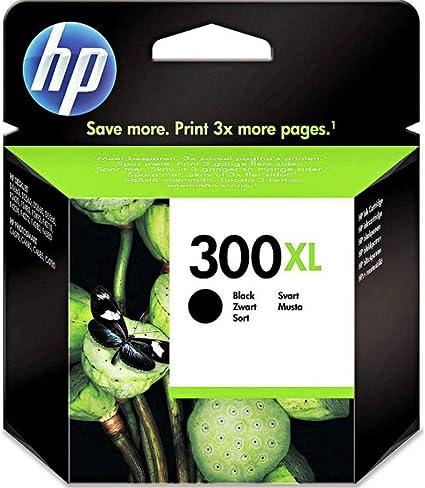 Hp 300xl Schwarz Original Druckerpatrone Mit Hoher Reichweite Für Hp Deskjet D1660 D2560 D2660 D5560 F2480 F4224 F4280 F4580 Hp Envy 110 114 120 Hp Photosmart C4680 C4780 Bürobedarf Schreibwaren
