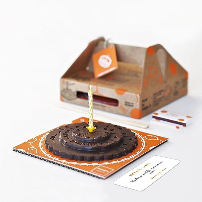 Pastel de cumpleaños de chocolate negro. chocolate negro 70 ...