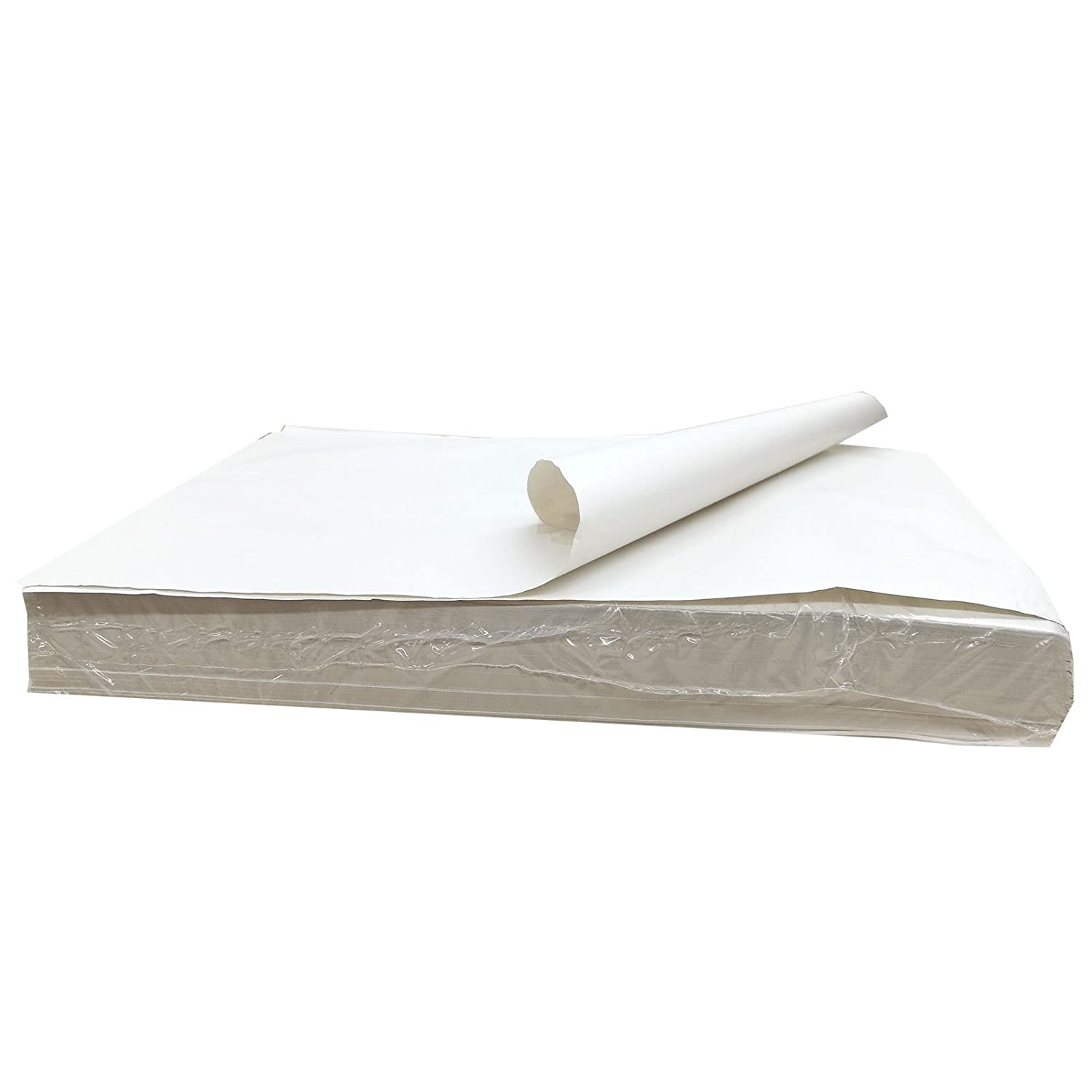 1500 Sheets Of WHITE PACKING PAPER Newspaper Offcuts Chip Shop Paper