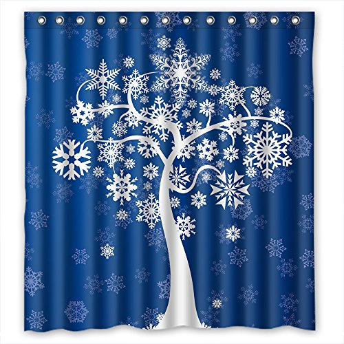 Eyeselect Tree Polyester Shower Curtains Width X Height / 66 X 72 Inches / W H 168 By 180 Cm For Bf Teens Boys Mother Father. Easy Care. Fabric Material