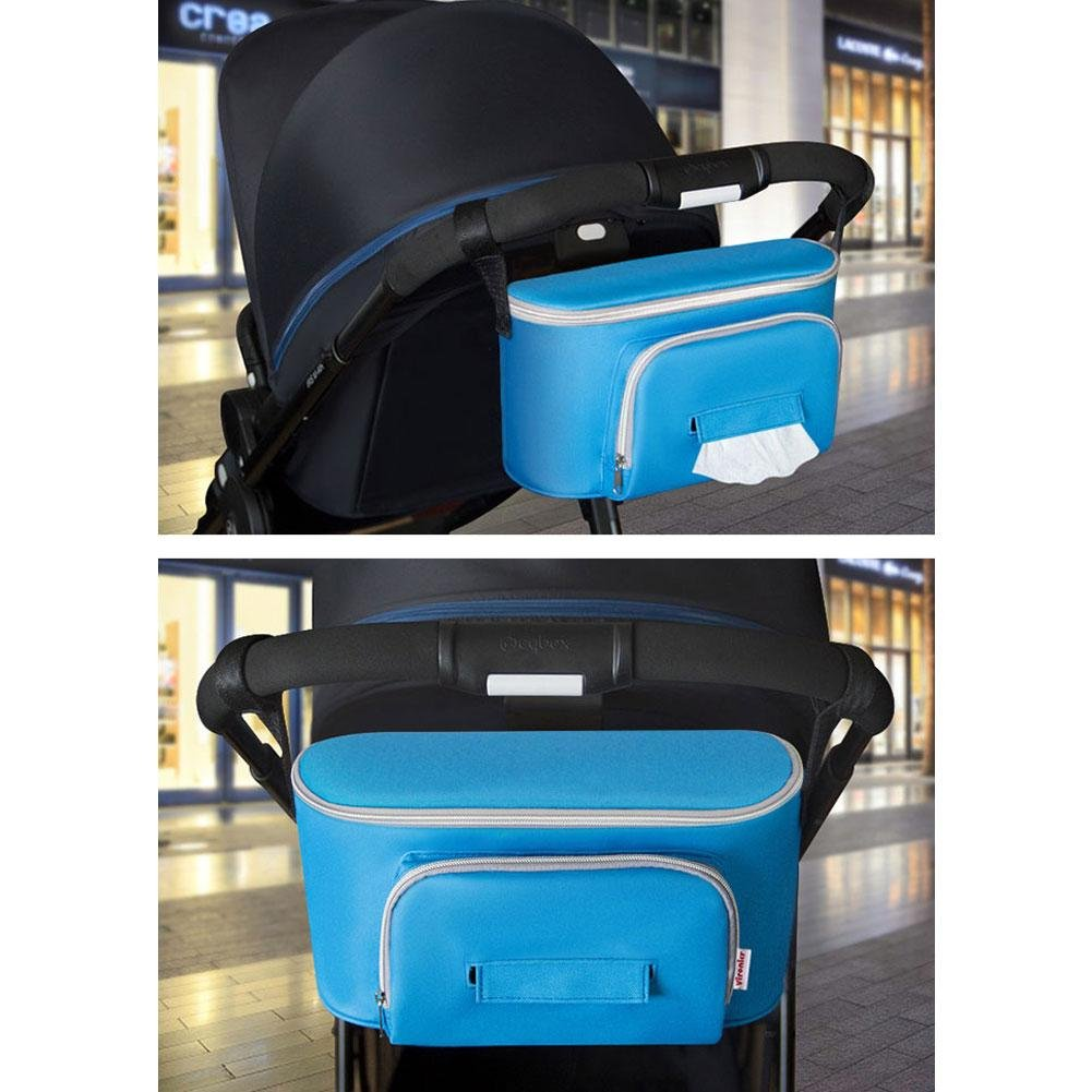 Amazon.com : Phoneix Baby Stroller Accessoris Bag New Cup Bag Stroller Organizer Baby Carriage Pram Buggy Cart Bottle Bag Car Bag : Baby