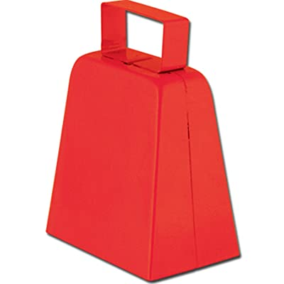 Cowbells (red) Party Accessory (1 count): Toys & Games