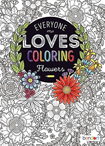Bendon 48673 Flowers Advanced Coloring Book