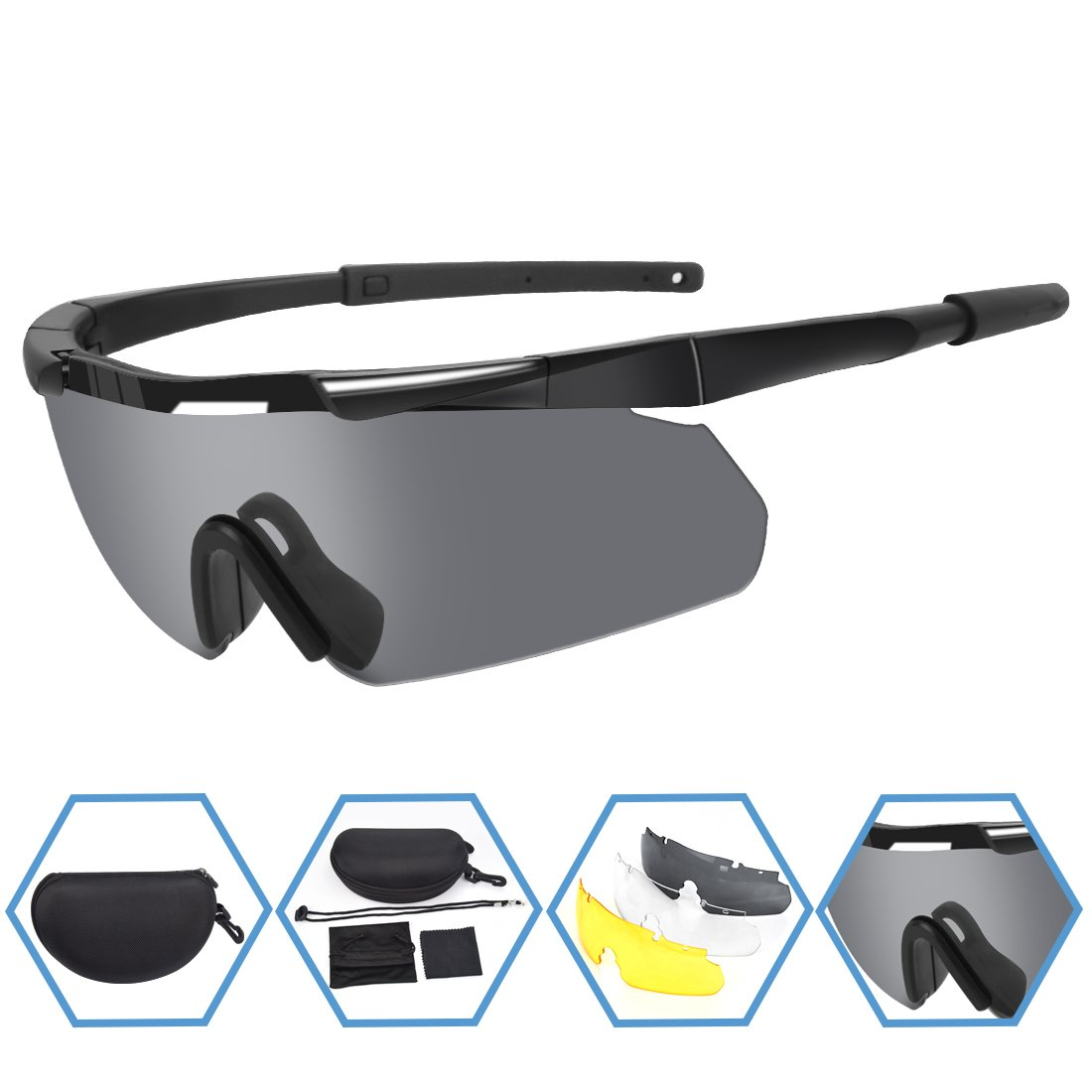 d9898ce246b Best Rated in Airsoft Goggles   Helpful Customer Reviews - Amazon.com