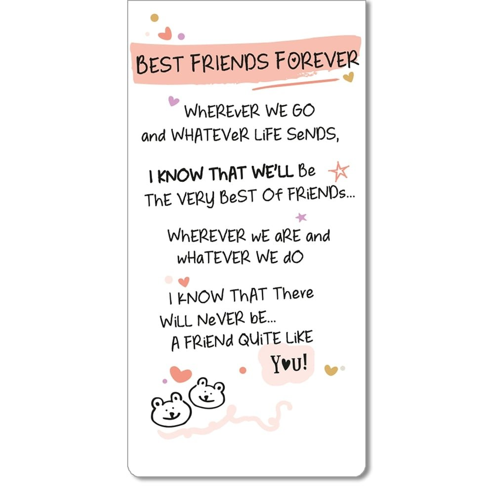 Special Friend Inspired Words Magnetic Bookmark