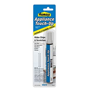 Appliance Touch Up Pen, White, 0.34 fl. oz, Touch Up