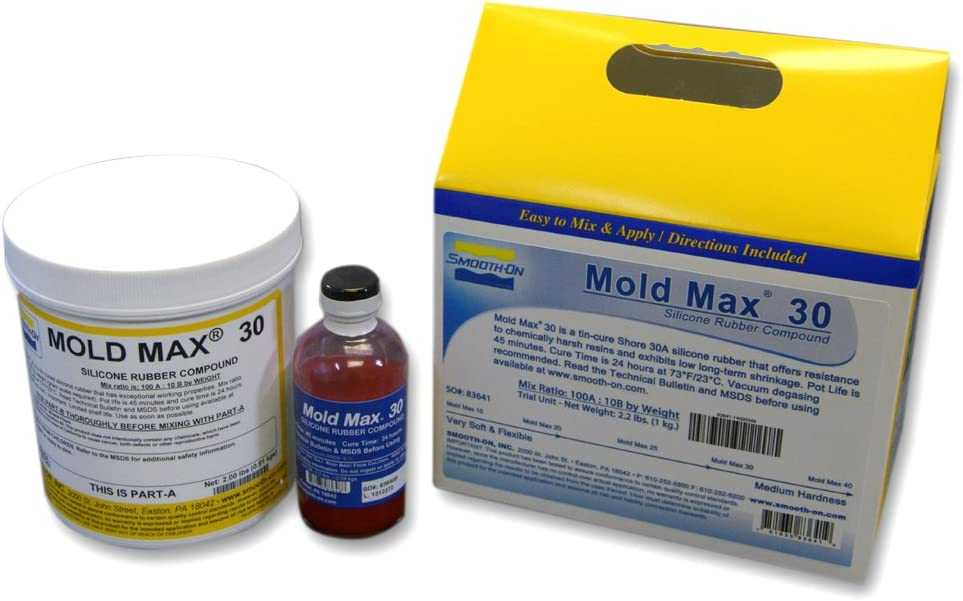 Smooth-On Mold Max 30 Silicone Mold Making Rubber - Trial Unit