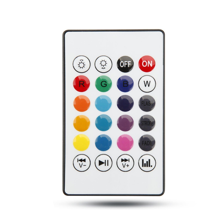 Texsens Remote Controller 24 keys for Tesxsens Light Bulb Speaker Generation II