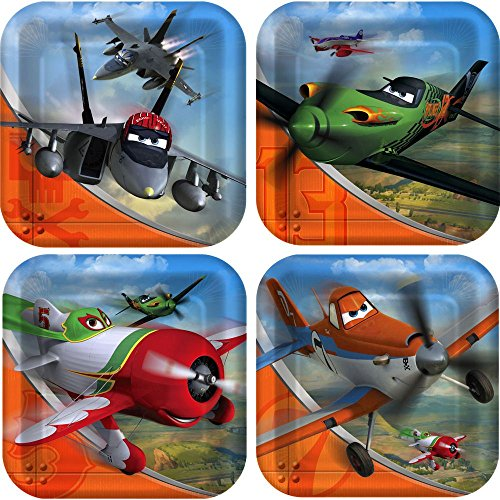 Disney Planes Small Paper Plates (8ct) -