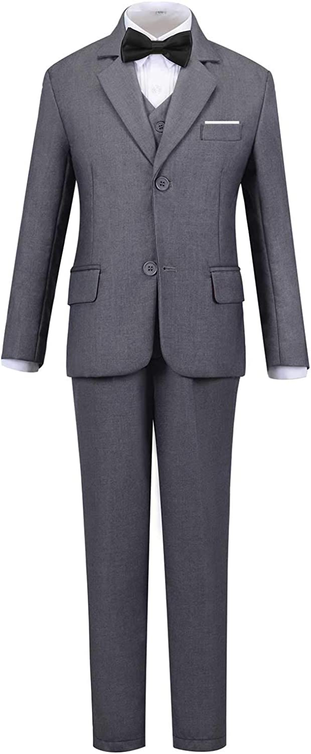 Addneo Boys Formal Suits Set for Kids Complete Outfit