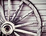 Antique Wagon Wheel Photo Country Decor 8x10 inch print