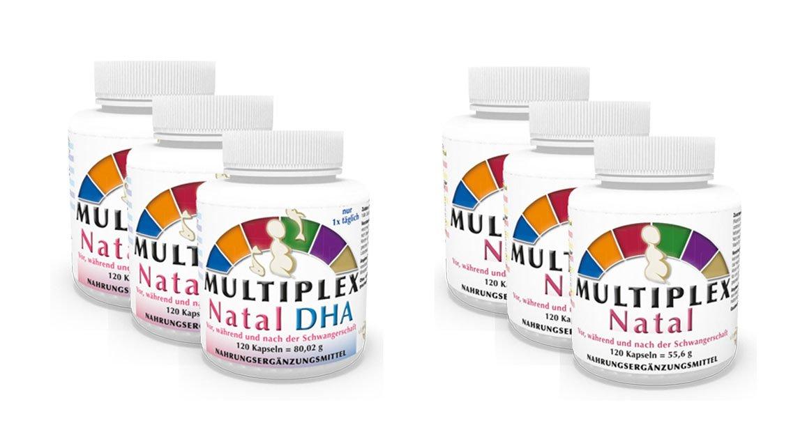 Amazon.com: Pack de 3 Complejo Multivitamínico Prenatal 720 ...