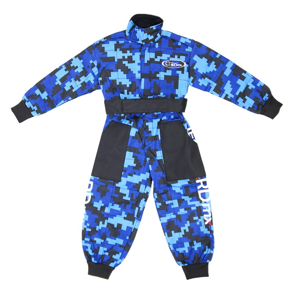 /& Gloves XL 55cm Leopard LEO-X15 Blue Kids Motocross Motorbike Helmet /& Goggles Kids CAMO Motocross 1PC Suit M 7-8Yrs XL 8cm
