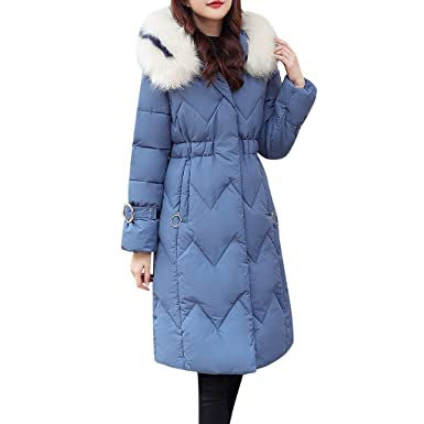 pre order free shipping get new Womens Ladies Quilted Winter Coat Fur Collar Hooded Down ...