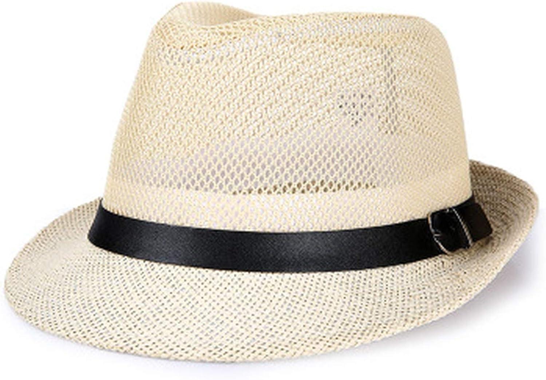 2019 Mens Summer Beach Hat Linen Breathable Mens Straw Hat Mens Fedora Hat Fedora Hats