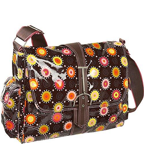Hadaki Multitasker Large Messenger Bag,Doodle Bugs Pink,o...