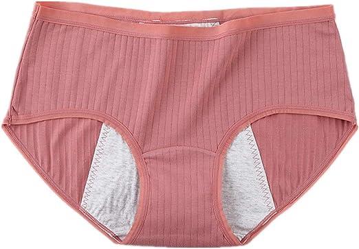 ZUOLUO Bragas Menstruales Bragas Mujer Algodon Pack Sexy Acogedor ...