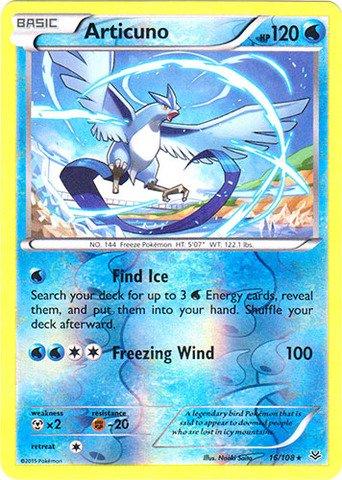 Pokemon - Articuno (16/108) - XY Roaring Skies - Reverse Holo