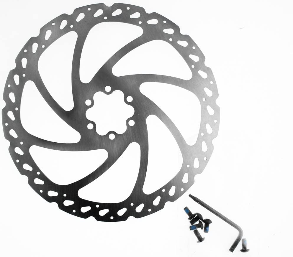HAYES V-SERIES V6-V7 Disc Brake Rotor 160//180mm 6 Bolt Road CX Mountain Bike