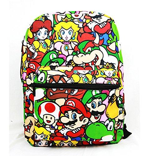 Disney Marvel Nintendo 16 inch Backpack (Super Mario)
