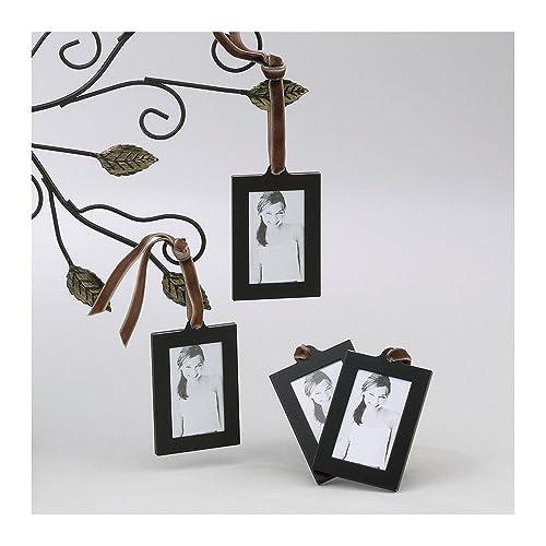 Amazon.com: Jewelry Adviser Gifts Set of 4 Aluminum Hanging Wallet ...
