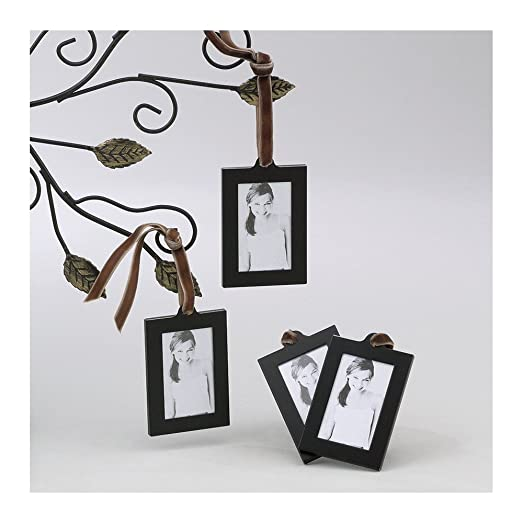 Amazon.com: Set of 4 Aluminum Hanging Wallet Size Frames: Jewelry