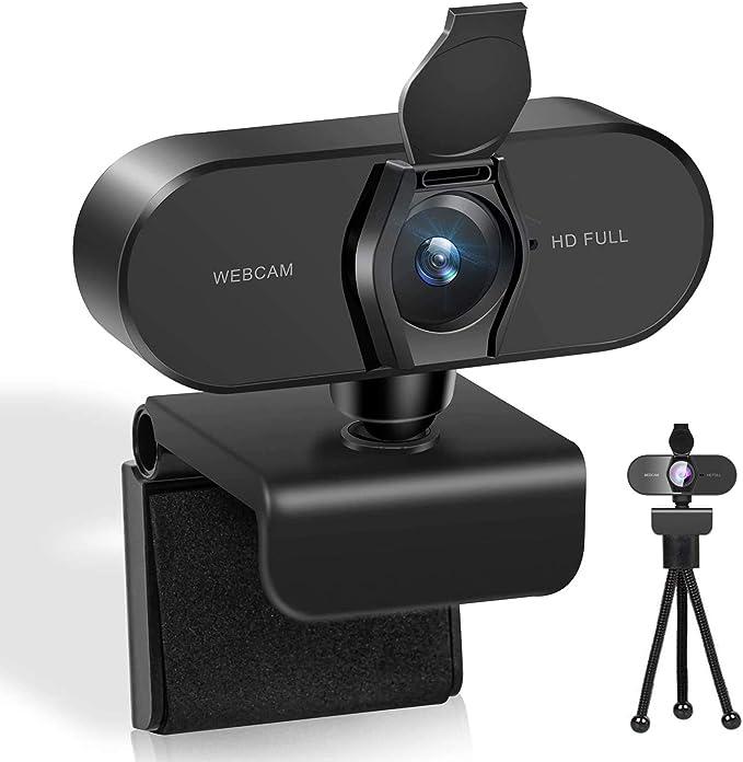 Webcams mit Mikrofon usb webcam Plug /& Play 2K Full HD Webcam mit Autofokusfunktion Spiel Videoanruf,Online-Unterricht Ger/äuschreduzierung-Mikrofone,Konferenz