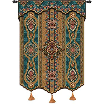 Amazon Com Prema Zari Woven Tapestry Wall Art Hanging