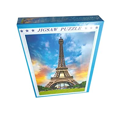 1000 Piece Jigsaw Puzzles, France Paris The Eiffel Tower Landscape Puzzles, Kids Adults Intellective Games Jigsaw Puzzles: Toys & Games