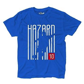 KiarenzaFD - Camiseta de fútbol de Eden Hazard con 10 escritores, Camisetas de Chelsea Royal