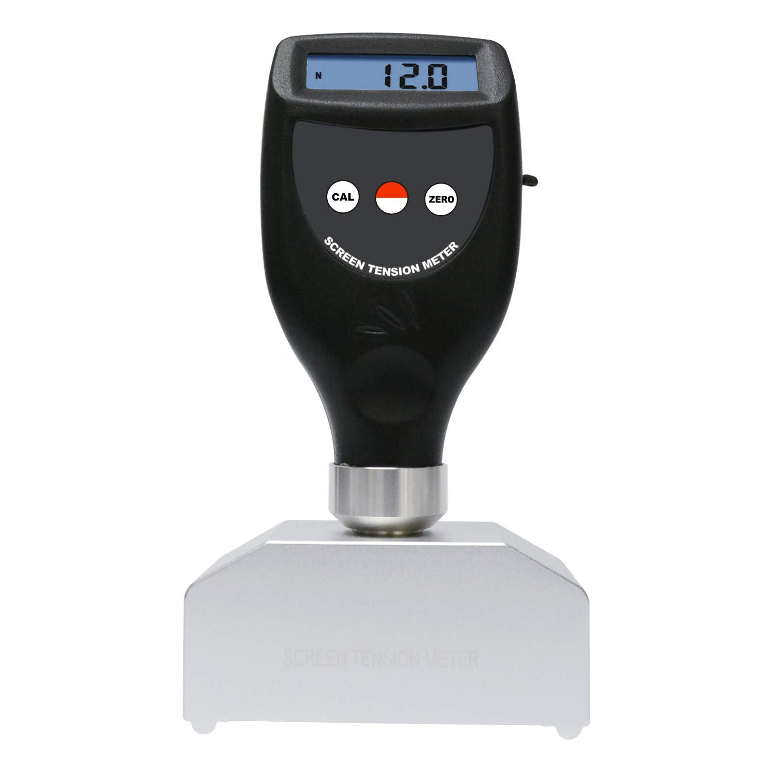 Digital Screen Tension Meter Tester Force Newton Measurement Range 7~40 N/cm for Screen Printing Stencil Production Quality Assurance by Landtek