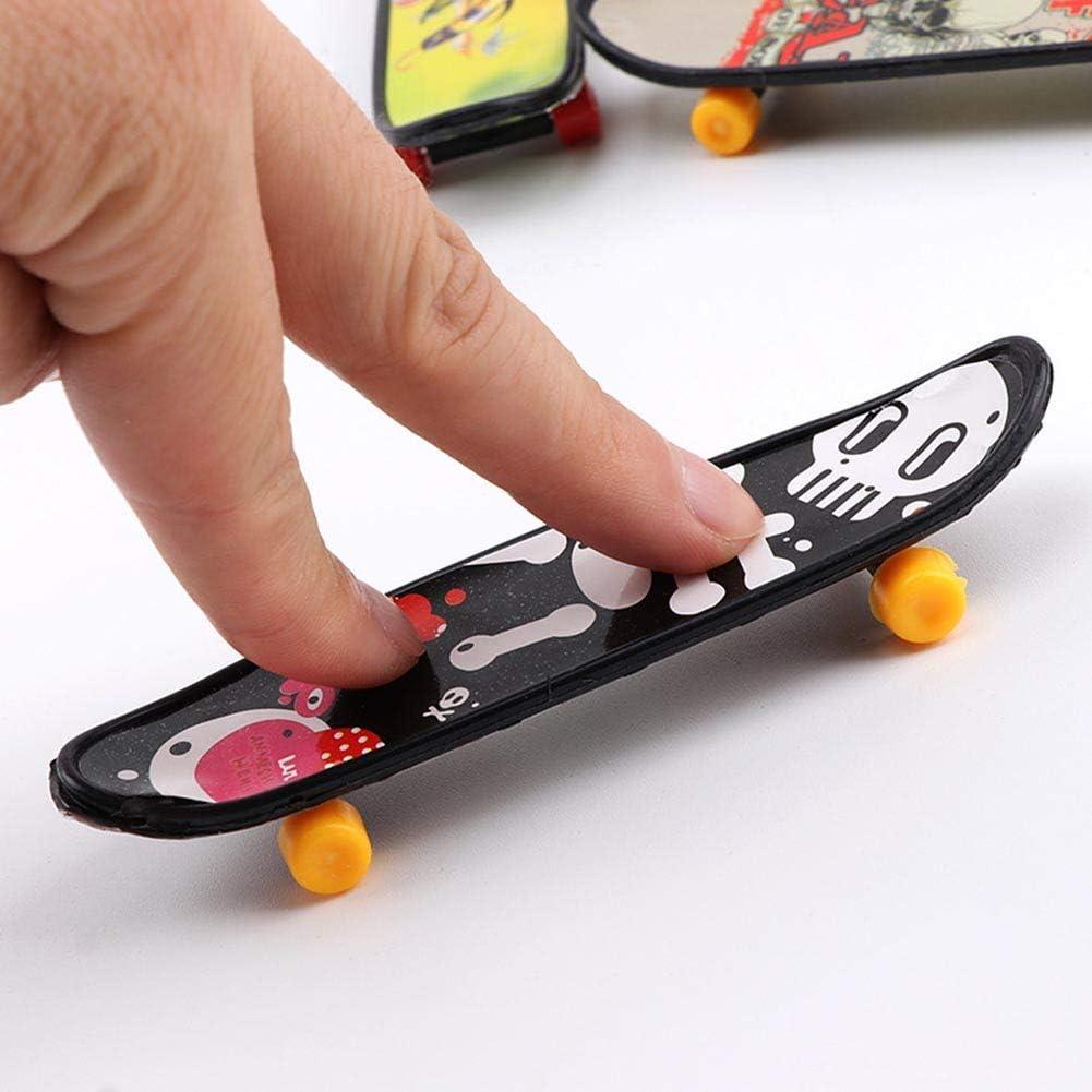 Lavendei Mini Finger Board Educational Toy Truck Skateboard Toy Best Gift for Kids Children