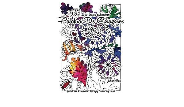 Amazon.com: Un Libro Para Colorear - Palabra de Corazones: Anti ...