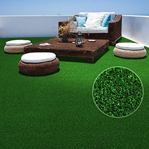 Nombreuses Couleurs au Choix terrasse Jardin etc 100x200cm Moquette ext/érieure | Anthracite Balcon casa pura Tapis Gazon Artificiel au m/ètre