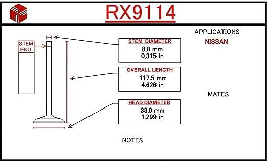 Engine Exhaust Valve ITM RX9114