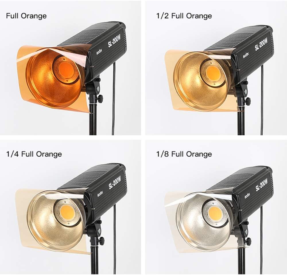 Farbkorrektur Gel Filter 8 Stück 40 6 X 50 8 Cm Blau Kamera