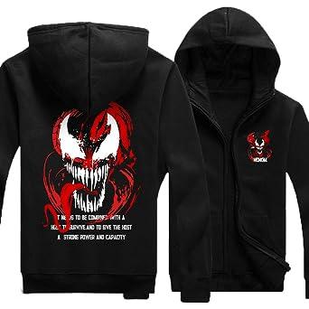 Cosplay ヴェノム パーカー 長袖 衣装 Venom シャツ コスプレ コート 綿 大人 メンズ イベント ハロウン 日常 男性
