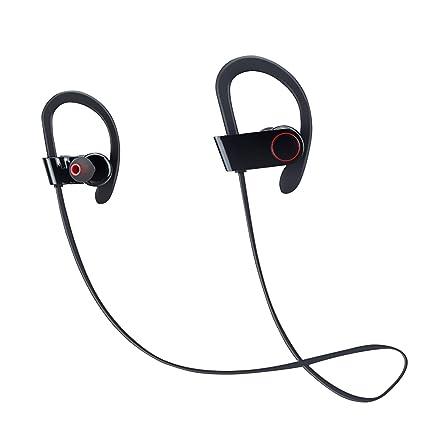 Coio Sports Bluetooth Headphone,HiFi Stereo Headset Sweatproof Earbud Noise Cancelling Headphone for Gym,