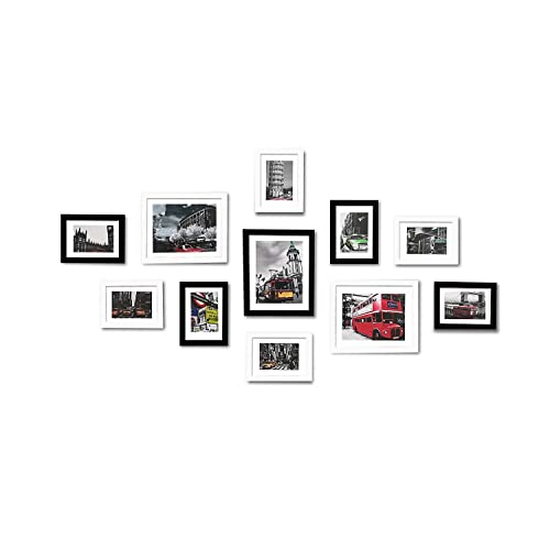 Wood Picture Frame Wall Sets Amazoncom