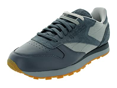 buy online 35995 87976 Reebok Classic Leather R12 (Stash City Pack) Mens in Graphite Flat Grey